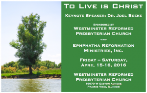Westminster Conference 2016 Info